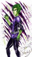 Beast Boy by kawaiitas