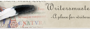 Writersmuster support banner by Outofthisworld