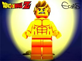 Custom Minifigure - Goku Super Sayan by OnizukaAS