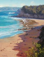 Cabbage tree Bay, Australia by artsaus