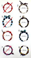 Hand-made bracelets - for sale! by MadBlackie