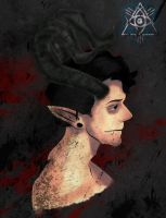 Horned Demon by CryDagon