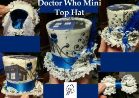 Doctor Who Mini Top Hat by Aphilien