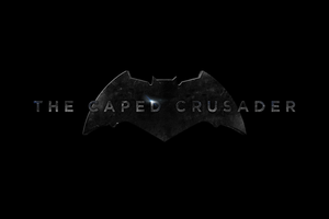 THE CAPED CRUSADER - LOGO by MrSteiners
