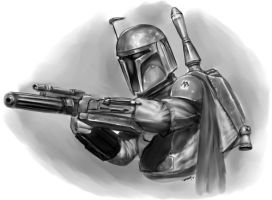 Star Wars - Boba Fett by ramstudios1