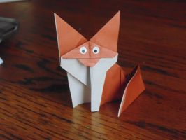 Foxy Folding by megamiaki364