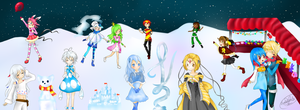 Ice Sculpting Festival~ by Eeveelutions95