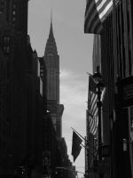 A View Of The Chrysler Building by Brooklyn47