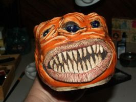 SCARY PUMPKIN MUG by CorazondeDios