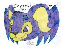 Fan Art - Crystal by WiccanWT