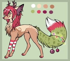The Spirit of Christmas ADOPTABLE (sold) by Fayven