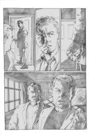 Pencilled page from my book by RougeDK
