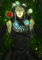 Witch of Space by AngryOct