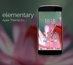 Elementary Apex Theme Alpha 0.1 by blume666
