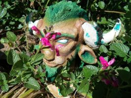 Cernunnos Bust - Completed 6 by vampire-L