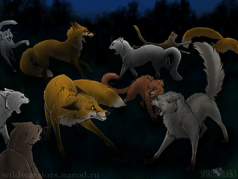 The Battle Against the Foxes by Spirit-Of-Alaska