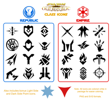 SWTOR Class Icon Pack by Ayiano