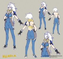 .Kerria 2015_Sheet. by MadiBlitz