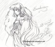 Lord Sesshomaru by Jojofanart