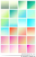 27 colorful gradients by Sanami276