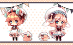 SailorPomPom Auction [Closed] !AB Set! by Maruuki