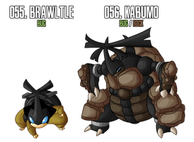 Fakemon: 55 - 56 by MTC-Studio
