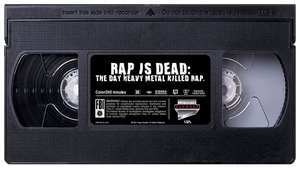 Rap is Dead VHS Tape by MrAngryDog