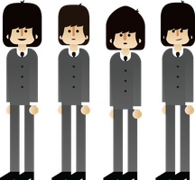 Beatles 1963 by GuillermoVA