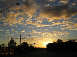 sunrise enroute to airport 2 by hayleybebe