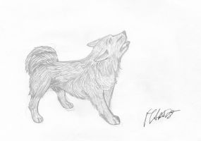 Drawing Dog by T.Gainsborough The Morning Walk by MarioTheArtistM
