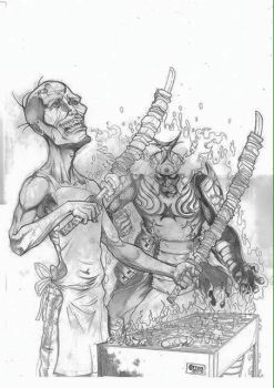 Mind Things of a Dirty Zombie by Inkcor