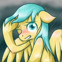 Rainy night by SS-SpiritStar
