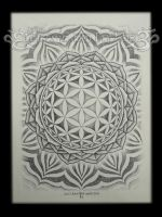 Flower of Life Mandala 2012 by VillKat-Arts