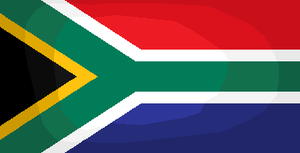 South African flag by tattoartist9