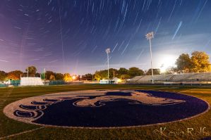 Custer Field Star Trail by Bvilleweatherman