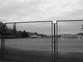 Behind a fence by ByteRat