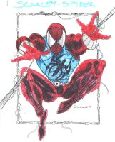 Scarlet Spider by stanmx