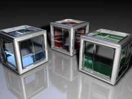 Cubes by wh1tel1te