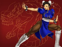 chun li by melonkitty