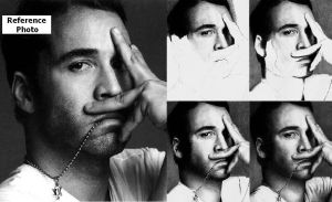 Jeremy Piven - PHOTO and STEPS by Doctor-Pencil