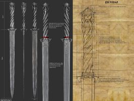 Sword of Svetovid....(Swiatovid,) by Kriegerman