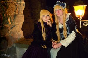 Gosick - Victorique and Cordelia 3 by giuccin