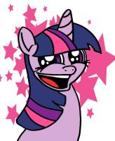 Twilight Happy Face by DragonBlood6400