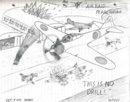 """Air raid... Pearl Harbor"" by Leewaffe3"