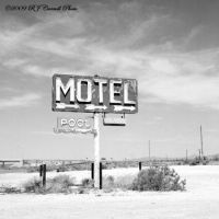 Motel Sign II by rjcarroll