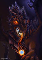 Hell Dragon by EagleIronic