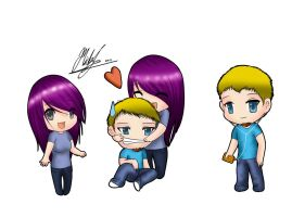 Chibi Us by Micky-K