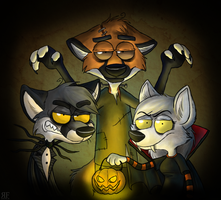 Happy Halloween 2012 by Zerda-Fox