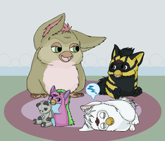 Furby Slumber Party by MintyDreams7