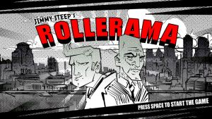 Rollerama Startscreen GGJ2013 by Thomacek